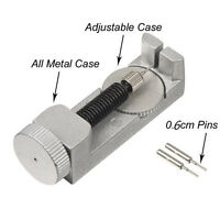 Adjustable Watch Band Strap Bracelet Link Pin Remover Repair Tool Kit Set Metal