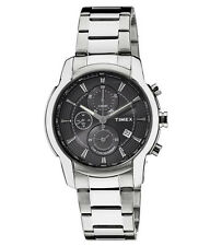 TIMEX Classy Steel Multi Dials Chrono Sports Watch for Mens TW000Y508