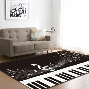 Aria Rug Large Carpet Anti-slip Absorb Water Piano 3d Printing Living Room Home