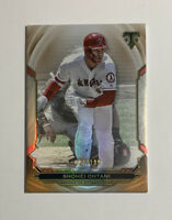 2019 Topps Triple Threads Amber Parallel Shohei Ohtani /199. Los Angeles Angels