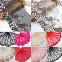 Lace Trim Ribbon Embroidery DIY Sewing Craft Dress Clothes Flower Pattern 1 Yard