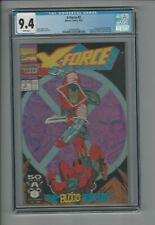 X-Force #2 CGC 9.4 NM 2nd Appearance of Deadpool Marvel September 1991 Cable