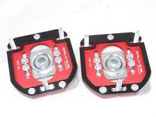 Camber Plates E30 3D 2WAY Drift BMW top mounts red