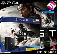 PS4 PLAYSTATION 4 PRO 1TB GHOST OF TSUSHIMA CONSOLA EDICION ESPECIAL CUH-7216B