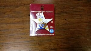 1984 Los Angeles Summer Olympics Sam the Olympic Eagle Souvenir Pin
