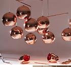 Design DIY Ceiling Lamp Light Glass Ball Pendant Lighting Bulb oAUL Rose Gold