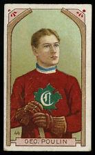 1911-12 C55 IMPERIAL TOBACCO~44~GEORGE SKINNER POULIN~ORIGINAL MONTREAL CANADIEN