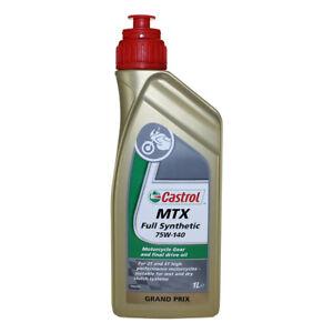 1L Castrol MTX 75W-140 Getriebe-Öl vollsynthetisch Kardan Öl NEU