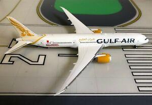 Gulf Air Boeing 787-9 A9C-FF Formula 1 Bahrain 1/400 scale diecast PhoenixModels