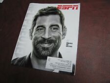 Green Bay Packers Aaron Rodgers Featured Cover ESPN Magazine 09-18-17