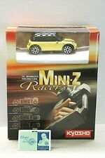 Kyosho Mini-Z RC Minimized Racing Car MR-015 Yellow Mini Cooper