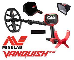 Minelab Vanquish 340 Metalldetektor Angebot mit Displayschutz & Cappi