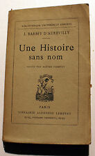 BARBEY D'AUREVILLY/CHEVALIER DES TOUCHES/ED LEMERRE/1948/DANDY/NORMANDIE