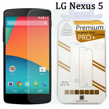 Neu 100% Original Gorilla Hartglas HD Displayschutzfolie für LG Nexus 5