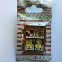 DLR - Happy Holidays 2009 - Frosted Windows - Mickey Mouse LE Disney Pin 74146