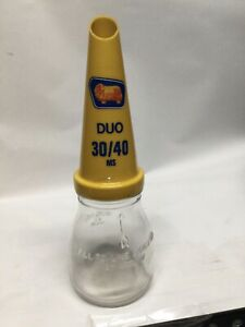 GOLDEN FLEECE DUO 30/40 MS PLASTIC OIL BOTTLE POURER WITH OIL BOTTLE