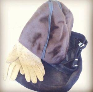 Original Vintage Otto Lucas Brown Faux Fur Cloche Hat 1950's