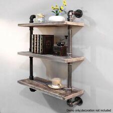 Rustic-Wall-Shelf-Industrial-Pipe-Shelving-Vintage-Mounted-Bookshelf-3-Level