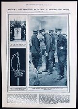 KING ALBERT I BELGIUM WESTERN FRONT TRENCH FIRST WORLD WAR PHOTO ARTICLE 1916