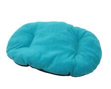 Nouveau grand!!! coloris bleu sarcelle / Aqua polaire chien / chat lit coussin pour fond de panier