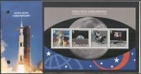 Gibraltar 2008 NASA/Space/Apollo 11/Rockets/Moon Landing 4v m/s Pres Pack s6392g
