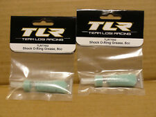 x2 TLR Team Losi Shock O-Ring Grease (2 Tubes Total) TLR77002 8cc NEW