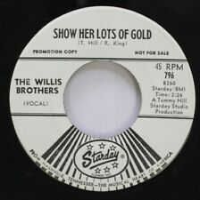 Country Promo Nm! 45 The Willis Brothers - Show Her Lots Of Gold / Bob On Starda