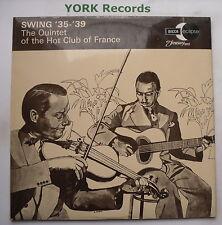 QUINTET OF THE HOT CLUB OF FRANCE - Swing '35-'39 - Ex LP Record Decca ECM 2051