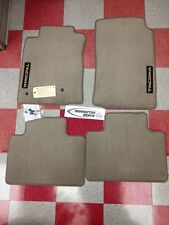 2005-2011 TACOMA ACCESS CAB CARPET FLOOR MATS OAK BEIGE GENUINE TOYOTA