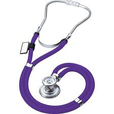 NEW IN BOX PURPLE SPRAGUE RAPPAPORT STETHOSCOPE BY ADC