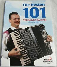 """SLAVKO AVSENIK   """"DIE BESTEN 101 AKKORDEON - ST�œCKE"""""""