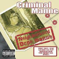 Criminal Manne : Neighborhood Dope Manne CD