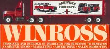 Bareville Fire Co '91 Winross Truck
