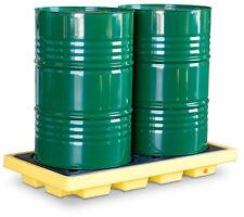 2 Drum Accumulation Centre - Economic Drum Storage System - Sump Pallet