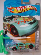 2011 Hot Wheels CIRCLE TRACKER #230∞turquoise GREEN∞Video Games