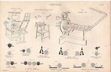 1868 Imprimir Imprenta De Madera Stanhope de Cowper Koenig