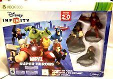 Disney Infinity 2.0 Edition Marvel Super Heroes XBOX 360 Starter Pack NIB