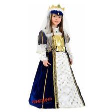 costume carnevale imperatrice regina bambina 5 - 6 anni vestito in velluto