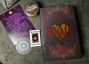 Finale By Stephanie Garber Owlcrate Bundle Signed Book Candle Pin Letter sticker