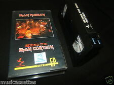 IRON MAIDEN BEHIND THE IRON CURTAIN AUSTRALIAN VHS VIDEO