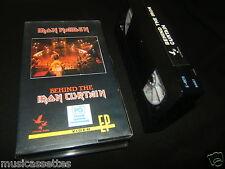 IRON MAIDEN BEHIND THE IRON CURTAIN AUSTRALIAN VHS VIDEO