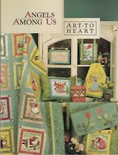 Angels Among Us by Nancy Halvorsen from Art to Heart 10 patterns