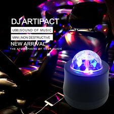 1xAuto Car Disco DJ LED Light Strobe Lighting Stage Party Bar Music Active Light