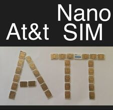 AT&T 4g 📶 🔺NANO SIM card 🔺GO Phone / Prepaid🔺New Service -or- Replacement