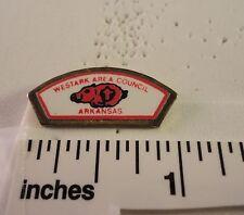 Vintage BSA Hatpin - Westark Area Council - Arkansas -