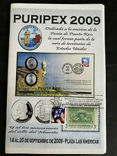 Puerto Rico 2009, Revista PURIPEX 2009, Cancelacion Sello PR 1949, SFPR, 72pgs