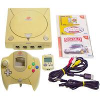 SEGA Dreamcast Console HKT-3000 +Game +Memory Japan Import DC look somewhat used