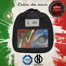 CALZE DA NEVE OMOLOGATE SMC PER PNEUMATICI 215/70 R 15 TAGLIA L
