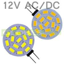 12V G4 LED COOL WARM WHITE DISC LIGHT GLOBE AC/DC 15 SMD 5630 Rangehood 5730