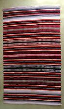 Cotton Rug, Unique Design, Large 109x186cm, Washable, Homemade, Multi Colour